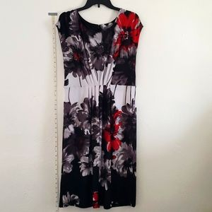 NY Collection floral dress XL
